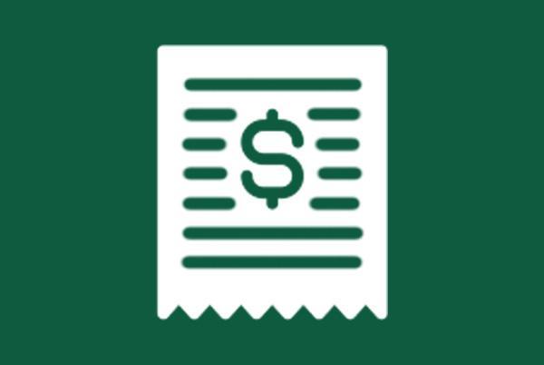 ikona znak dolara